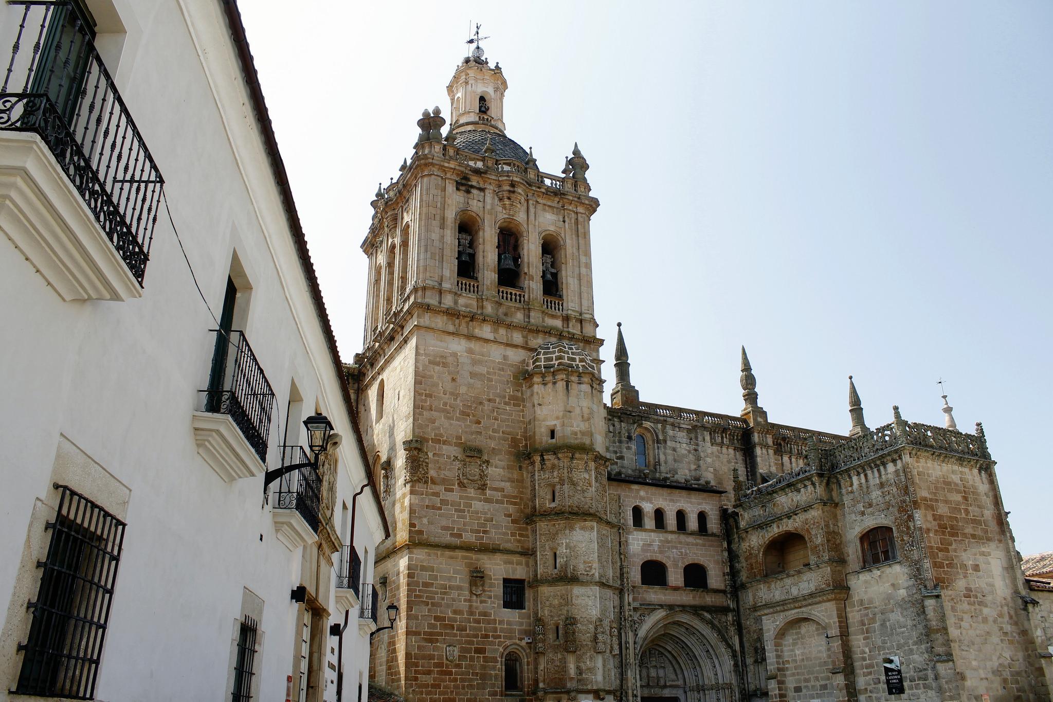 La catedral de Coria, en Extremadura, España, tardó aproximadamente 250 años en construirse.