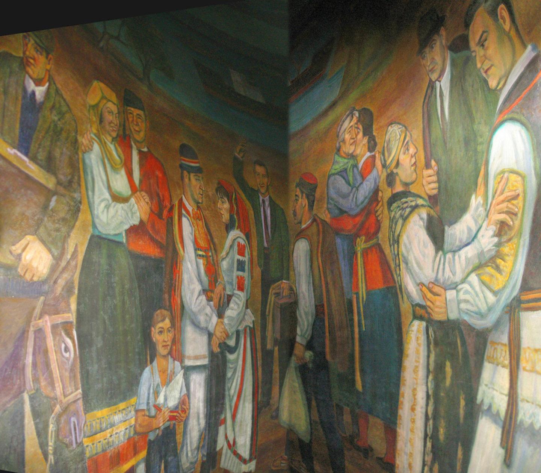 """Vanka comenzó a trabajar en los murales de lo que ha recibido el apodo de """"la Capilla Sixtina de Pittsburgh"""" entre abril y junio de 1937, y volvió a trabajar en ellos en el verano de 1941"""