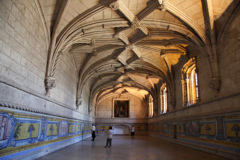 El monasterio es conocido por ser la cumbre del gótico tardío portugués.