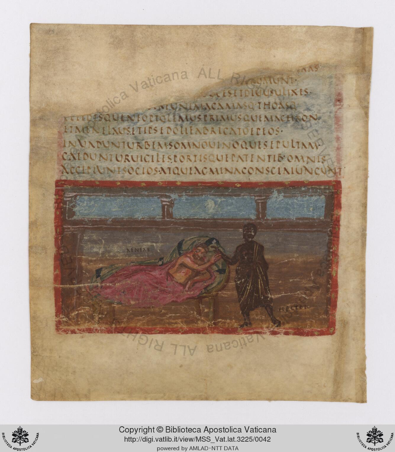 Este manuscrito, el Vergilius Vaticanus, es uno de los documentos más antiguos que hayan pasado por este proceso de digitalización.
