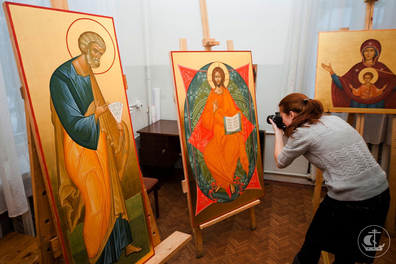 El nacimiento del arte abstracto, muy probablemente, no habría sido posible sin la influencia de la iconografía rusa.