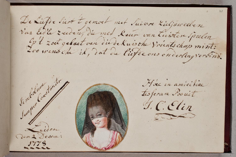 Cuando estos jóvenes renacentistas conocían a alguien, le pedían firmar una entrada en su alba amicorum.