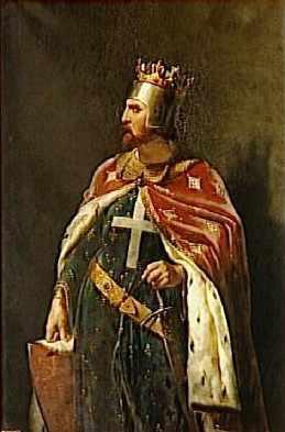 Retrato de Ricardo I, de Merry-Joseph Blondel.