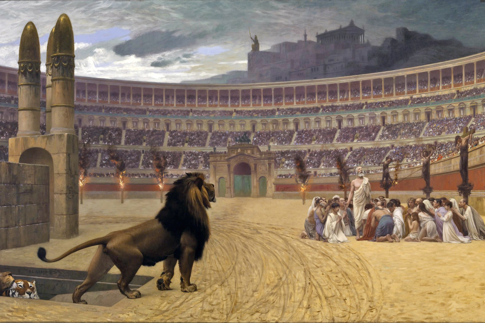 WEB-ROME-COLISEUM-Jean-Léon_Gérôme_-_The_Christian_Martyrs'_Last_Prayer_-_Walters_37113