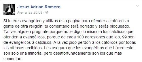 Jesus_Romero facebook