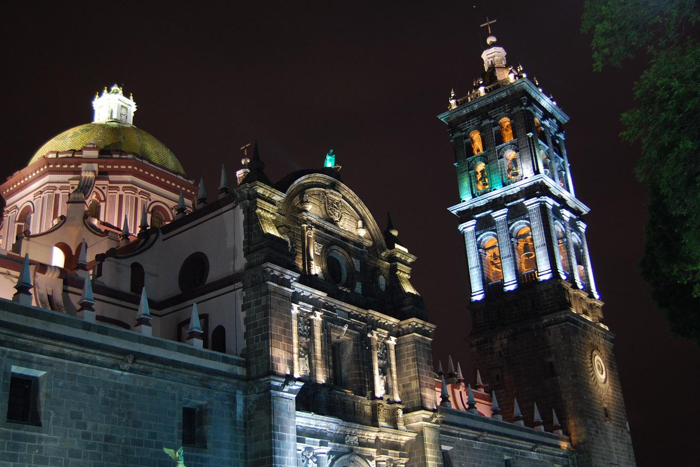Llamada Catedral de Nuestra Señora de La Inmaculada Concepción, su construcción se inició en 1575.