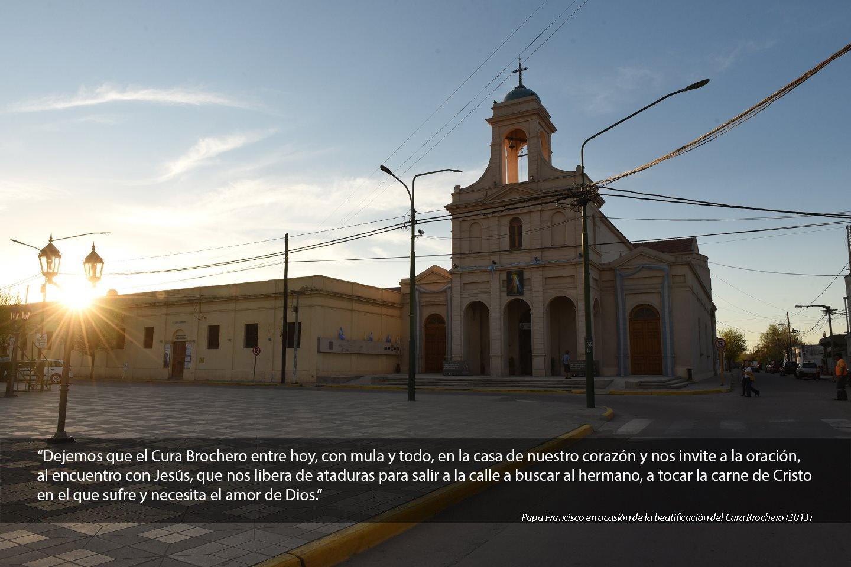 Iglesia en Villa Cura Brochero, Cordoba, ARGENTINA 2016