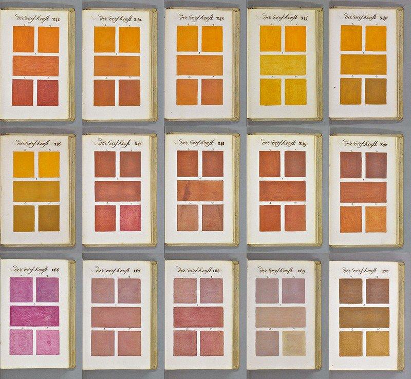 """Un artista holandés, conocido únicamente como A. Boogert, es el autor del """"Traité des couleurs servant à la peinture à l'eau"""", el """"tratado de los colores para la acuarela"""": un compendio de colores de aproximadamente ochocientas páginas, que se convertiría en la guía más completa de pintura y color de su tiempo"""