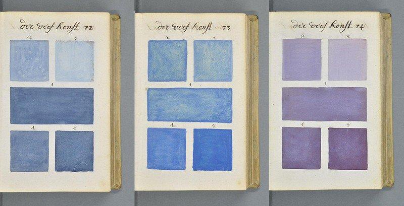 """Hoy día, el libro –que puede considerarse el """"abuelo"""" del Pantone- se conserva en la Biblioteca Méjanes, en Aix-De-Provence, en Francia."""