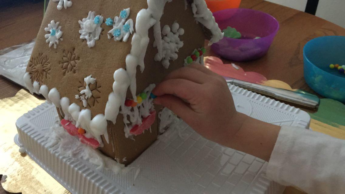 Una tradición muy para los niños: el Gingerbread house