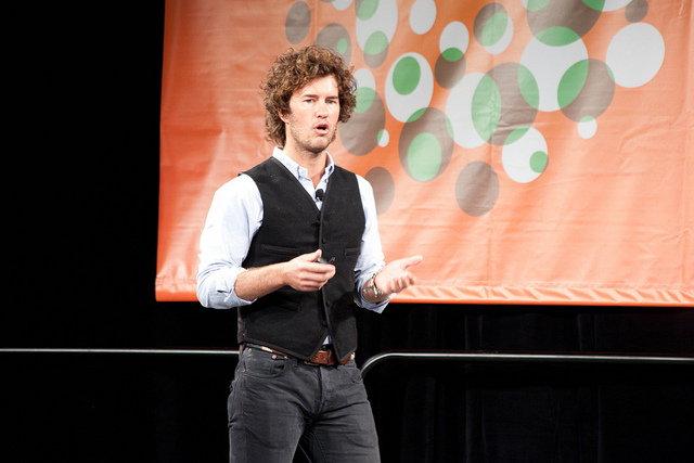 Blake Mycoskie, fundador de TOM's, en el SXSW 2011