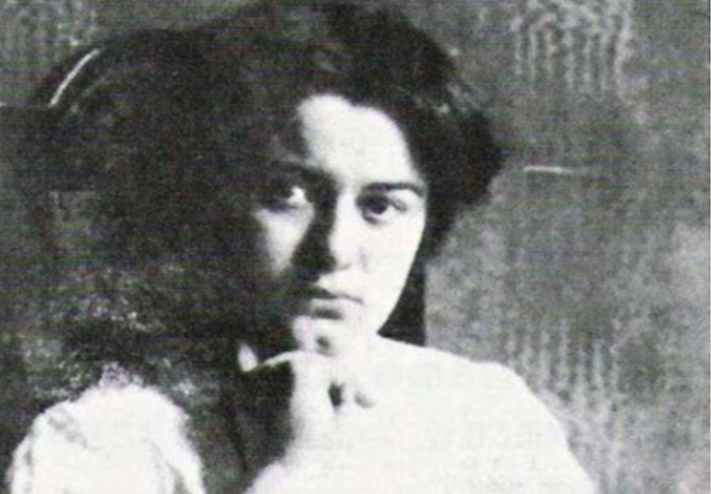 Edith Stein , estudiante en Wroclaw (1913-1914).