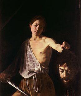 La atormentada vida de Caravaggio representada en un doble autorretrato