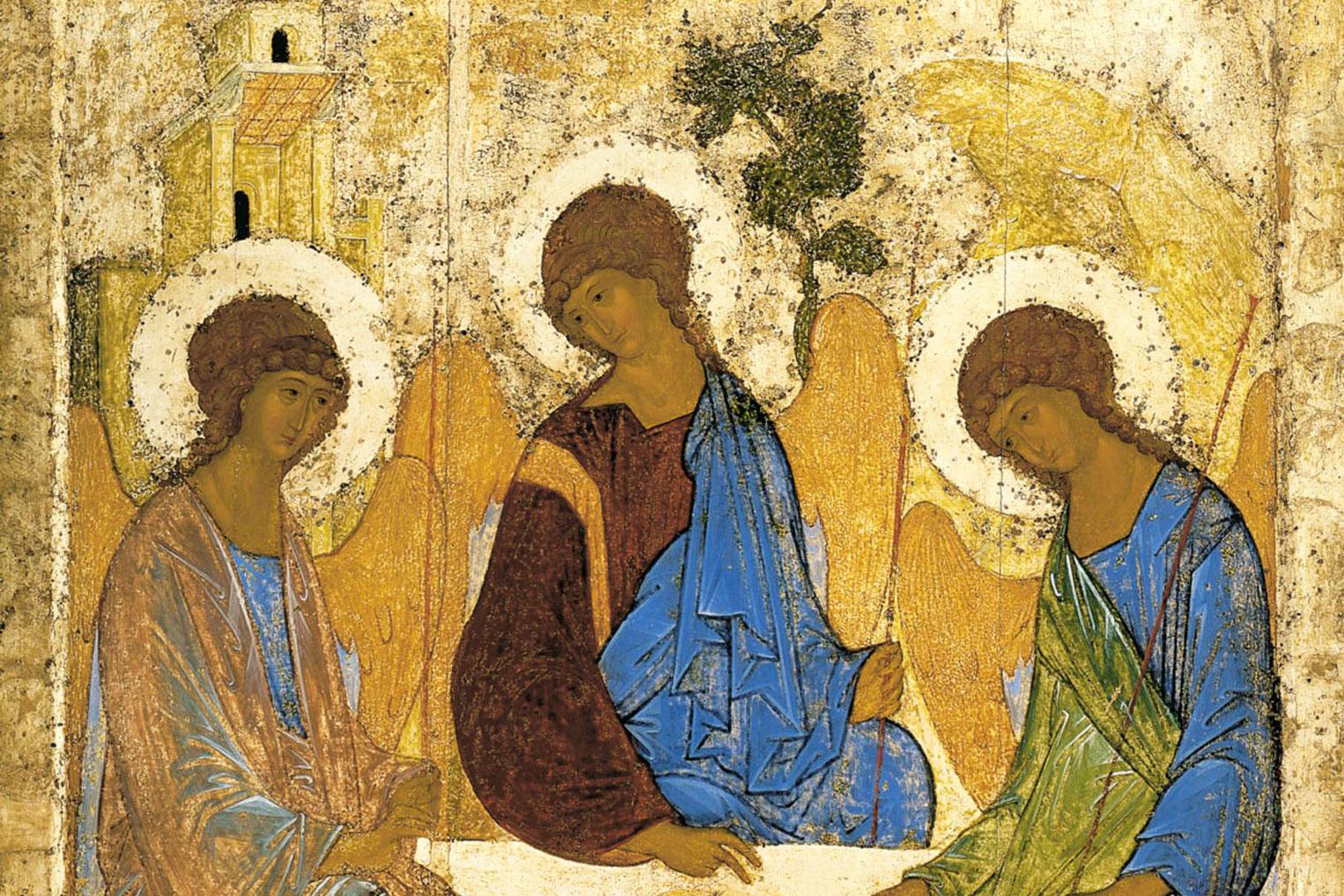 El Icono Ruso Que Revela El Misterio De La Trinidad