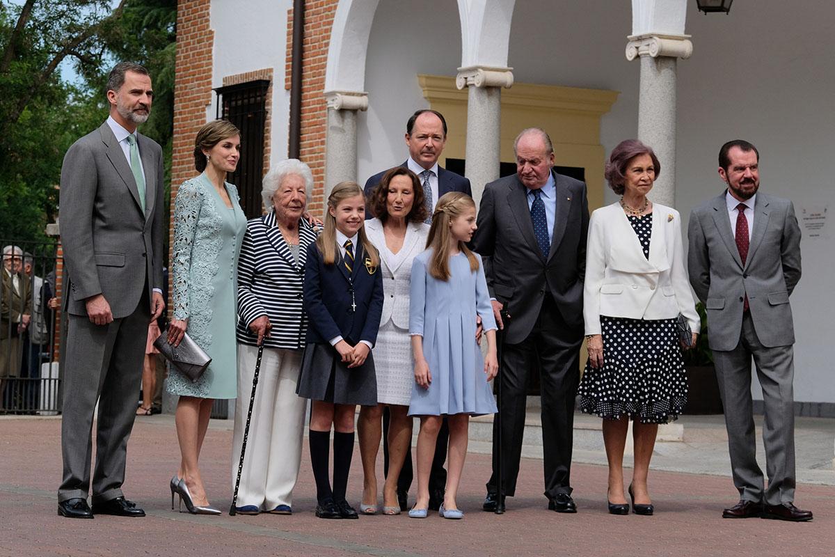 Communion of Princess Sofia