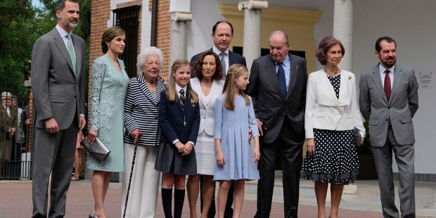 Communion of Princess Sofia