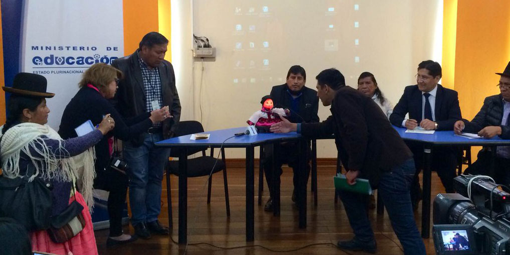 Bolivia- Education-robot