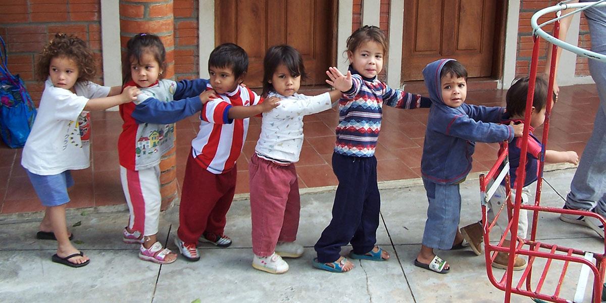 PARAGUAY-SCHOOL-CHILDREN