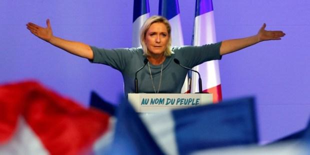 Ravis par Marine (Le Pen)