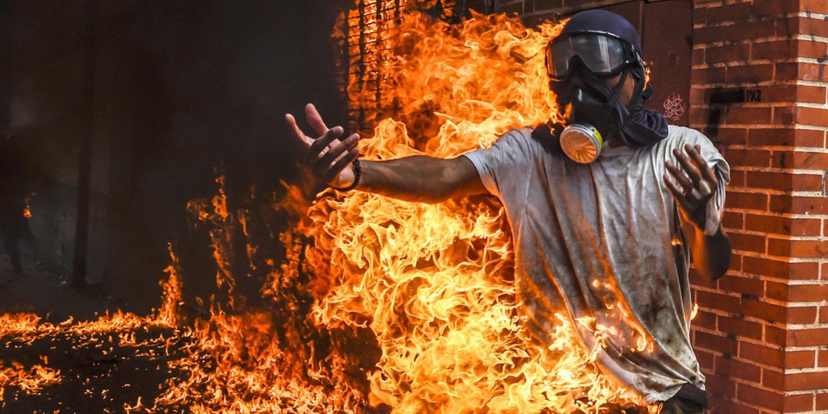 demonstrator Venezuela