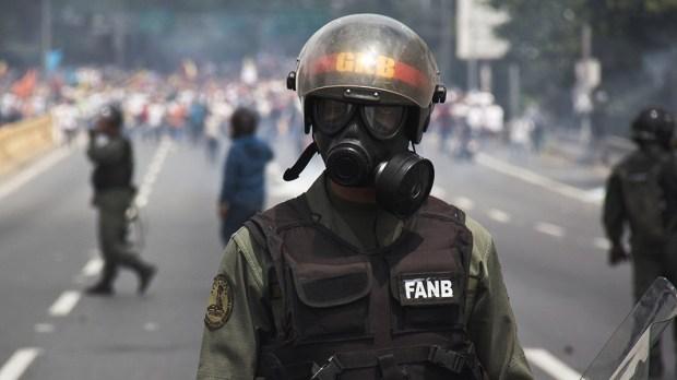 Venezuela soldier