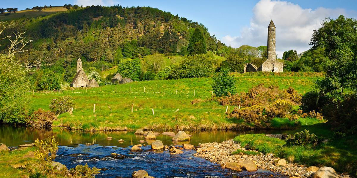 GLENDALOUGH,IRELAND