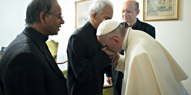 POPE FRANCIS;FATHER THOMAS UZHUNNALIL