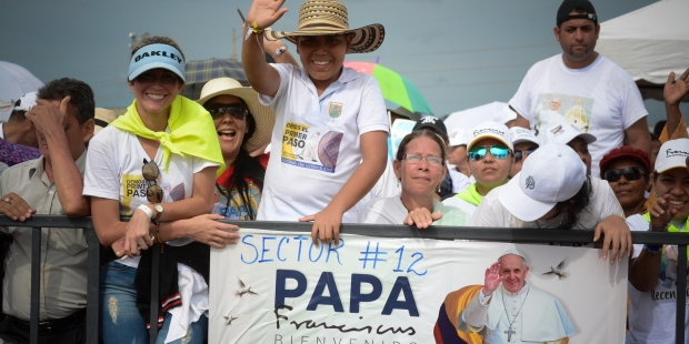 COLOMBIA,POPE FRANCIS