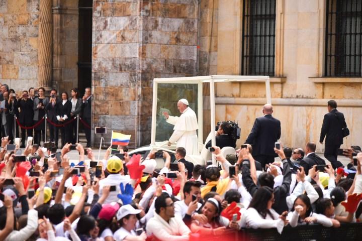POPE FRANCIS,BOLIVAR SQUARE