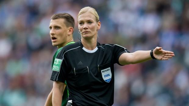Referee Bibiana Steinhaus