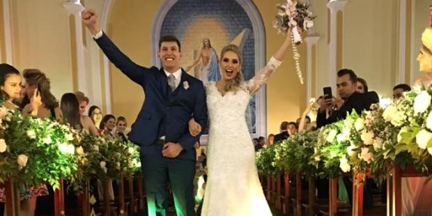 Casamento de Jakson Follmann