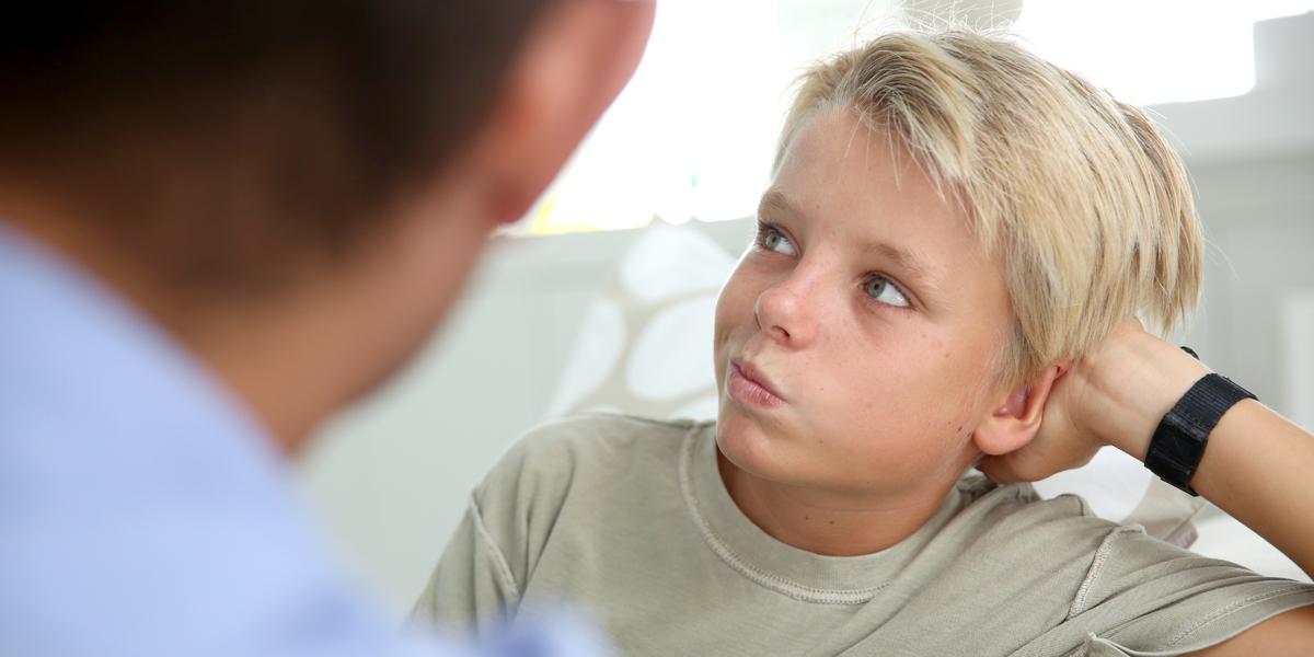 BOY,DAD,TALK