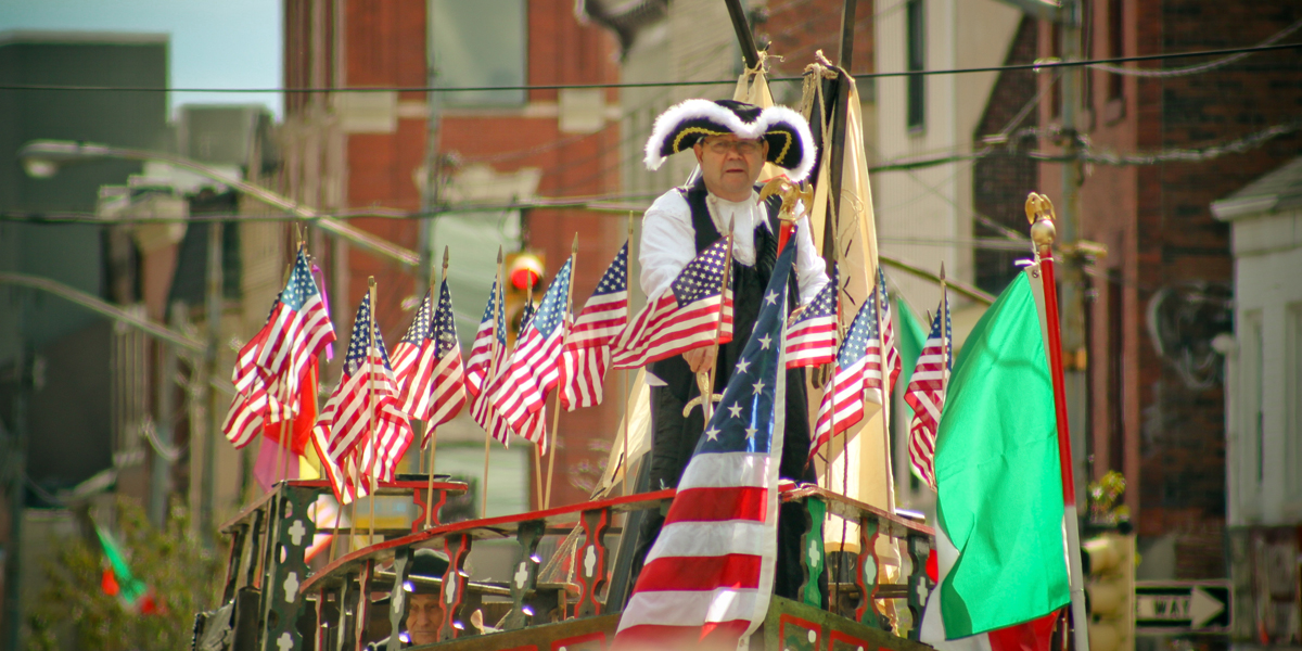 COLUMBUS DAY,PARADE