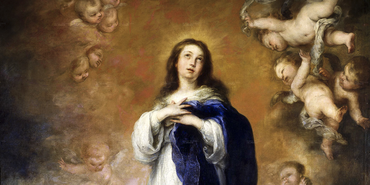 Immaculate conception of the escorial