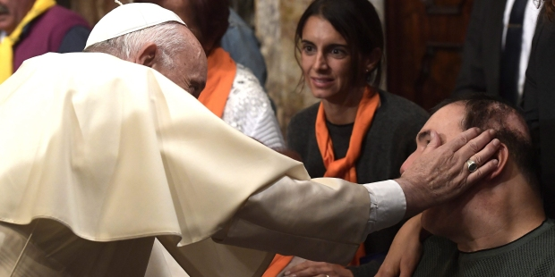 POPE FRANCIS CARESS