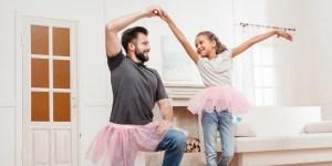 DAD DAUGHTER BALLET