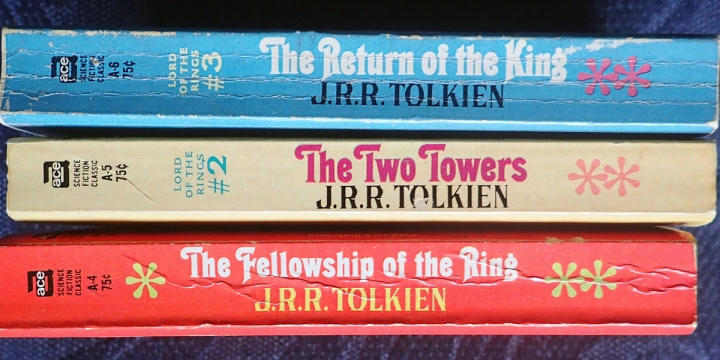 LORD OF THE RINGS,BOOKS