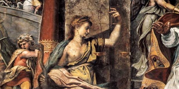 Lady Representing Justice by Raphael (1483–1520)