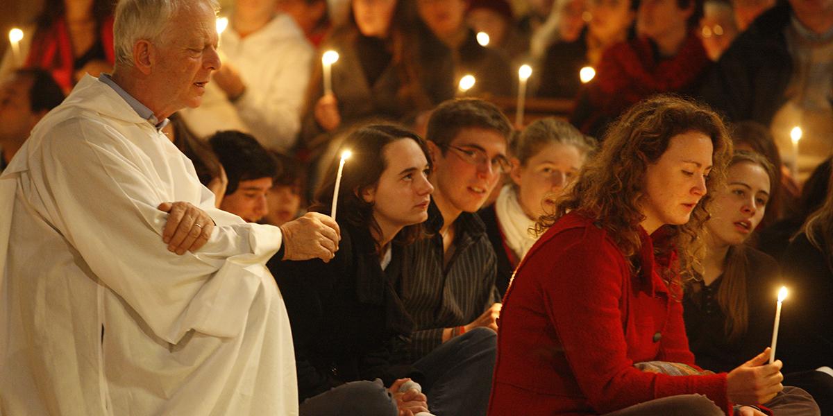 Young Praying