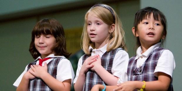 SCHOOL,CHILDREN,SINGING