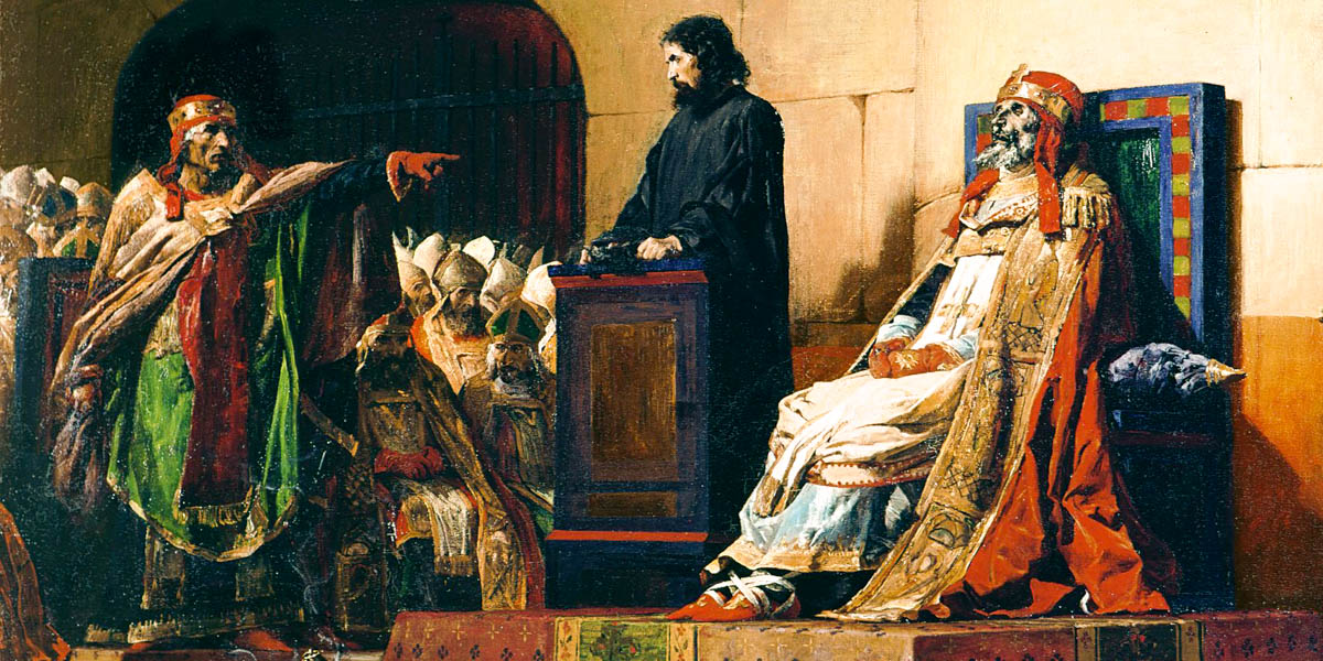 POPE FORMOSUS ON TRIAL
