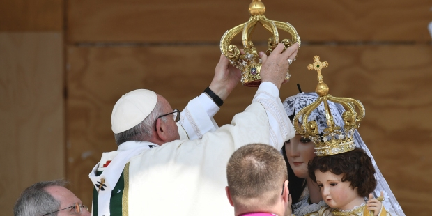 POPE VIRGIN CARMEL