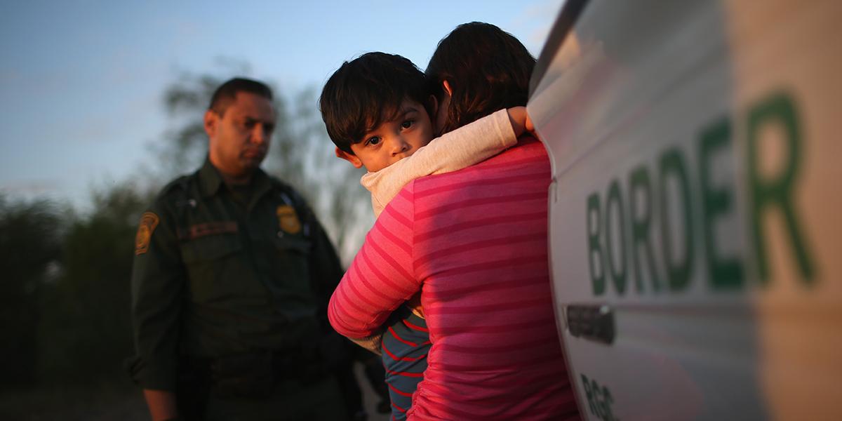 Mexico border illegally agents