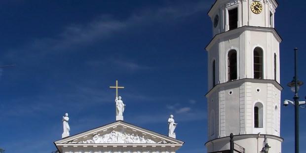 archi basilique de vilnius , lituanie