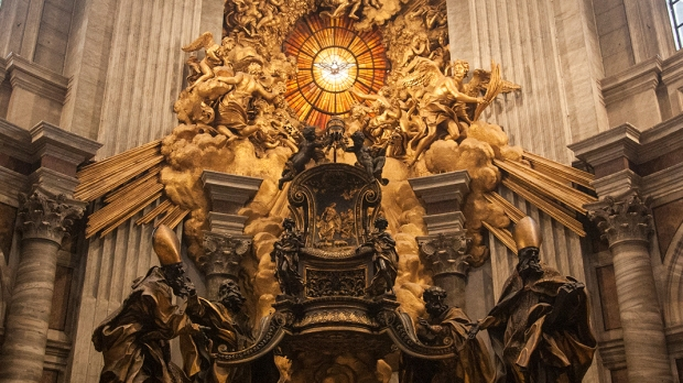 THE-CHAIR-OF-SAINT-PETER