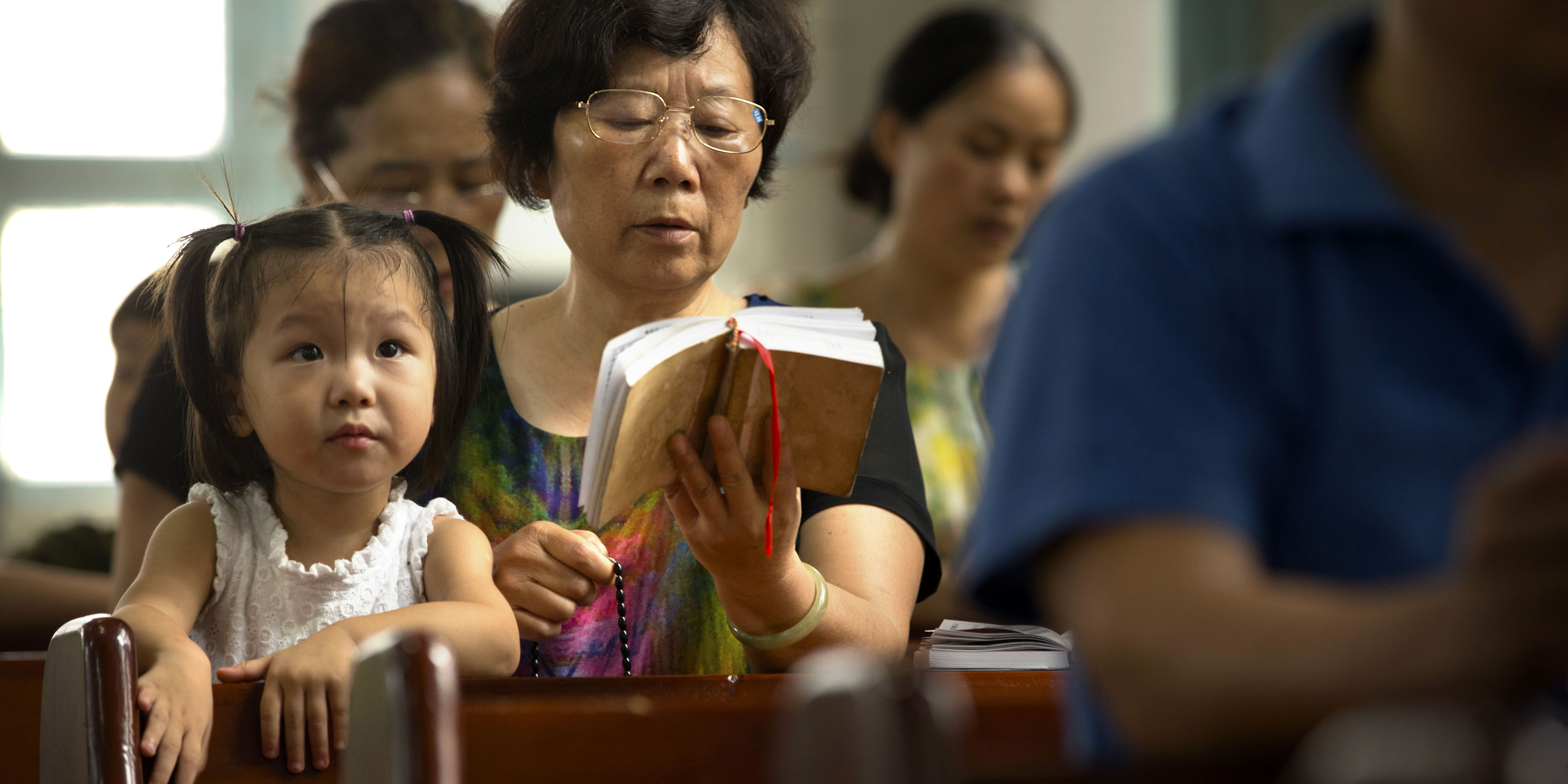 CHINA CATHOLICS