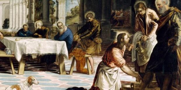 CHRIST WASHING FEET