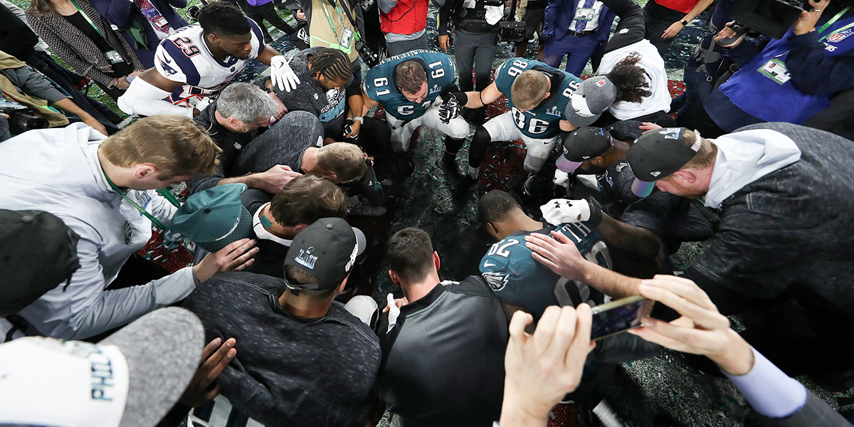 EAGLES,SUPERBOWL,PRAYER