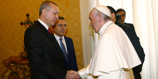 POPE FRANCIS AND ERDOGAN
