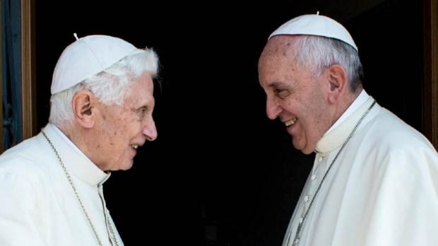 POPE FRANCIS,POPE BENEDICT